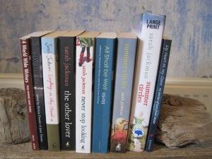Sarah Jackman's book shelf